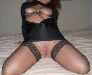 jag sexig i svart